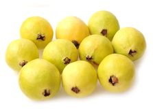 Ripe guava Stock Photos