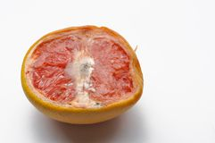 Ripe half of pink grapefruit citrus fruit isolated on white background. Slice raw object food healthy juicy freshness red vibrant sour vegetarian organic stock photos