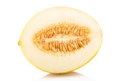 Ripe honeydew melon Stock Images