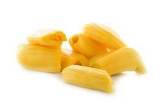 Ripe Jack fruit on white Stock Images