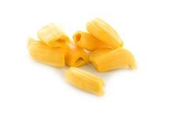 Ripe Jack fruit on white Stock Image
