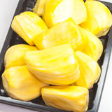 Ripe Jackfruit isolated on white background Royalty Free Stock Image