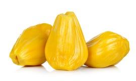 Ripe Jackfruit isolated on white background Stock Photography