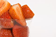 Ripe juicey strawberries Royalty Free Stock Photography