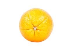 Ripe orange. Ripe juici orange isolated on white Royalty Free Stock Image