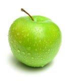 Ripe juicy apple Stock Image