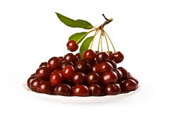 Ripe juicy cherries Stock Photography