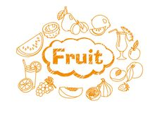 Ripe juicy fruit Royalty Free Stock Photos