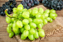 Ripe juicy grape Royalty Free Stock Images