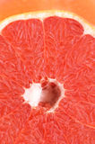 Ripe and juicy grapefruit  closeup Royalty Free Stock Images