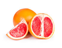 Ripe juicy grapefruit Stock Photography
