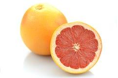 Ripe juicy grapefruit isolated on white background Stock Photography