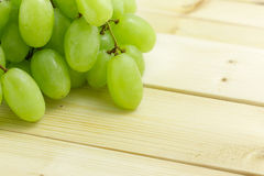 Ripe and juicy green grapes Royalty Free Stock Image