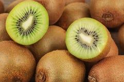 Ripe and juicy kiwi Stock Photos