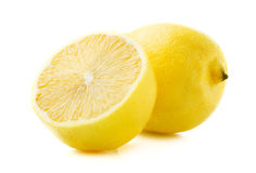 Ripe juicy lemon. Royalty Free Stock Image
