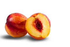 Ripe juicy nectarines Royalty Free Stock Image
