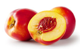 Ripe juicy nectarines Royalty Free Stock Photography