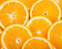 Ripe juicy orange slices Stock Images