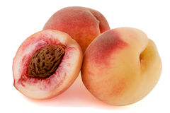 Ripe, juicy peaches Royalty Free Stock Photography