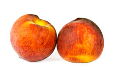 Ripe juicy peaches Royalty Free Stock Photo