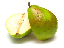 Ripe juicy pear 2 Stock Photo