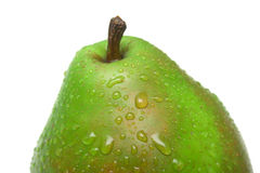 Ripe juicy pear Royalty Free Stock Images