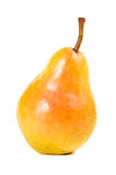 Ripe juicy pear isolated Royalty Free Stock Photo