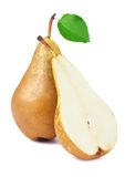 Ripe juicy pear Stock Photos