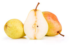Ripe juicy pear Stock Photo