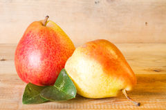 Ripe juicy pear Stock Image