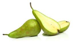 Ripe juicy pears Stock Photos