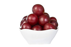 Ripe juicy plums Royalty Free Stock Photography
