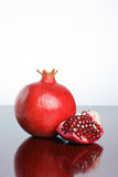 Ripe juicy pomegranate Royalty Free Stock Image