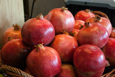 Ripe juicy pomegranates Royalty Free Stock Image