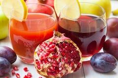 Ripe juicy pomegranates Royalty Free Stock Photo