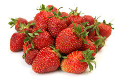 Ripe and juicy strawberries for healthy eating Royalty Free Stock Image