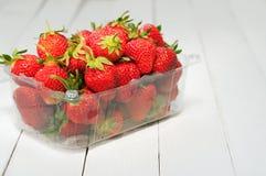 Ripe, juicy strawberries Royalty Free Stock Image