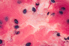 Ripe juicy watermelon close up Royalty Free Stock Photography