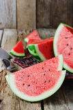 Ripe juicy watermelon Royalty Free Stock Image