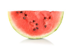 Ripe juicy watermelon isolated Royalty Free Stock Photography