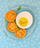Ripe and juicy yellow tomatoes Stock Photos