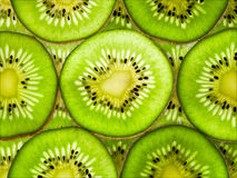 Ripe kiwi fruit as background Royalty Free Stock Photography