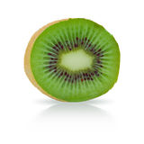 Ripe kiwi fruit isolated Stock Images