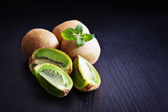 Ripe kiwi fruit Stock Images