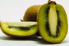 Ripe kiwi fruits with half Royalty Free Stock Images