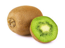 Ripe kiwi isolated Stock Photo