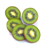 Ripe kiwi segment Stock Photography