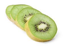 Ripe kiwi slices Stock Image