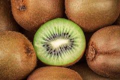 Ripe kiwi, texture Stock Photography