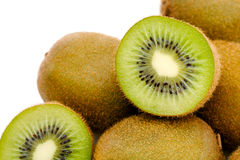 Ripe kiwifruit Stock Images